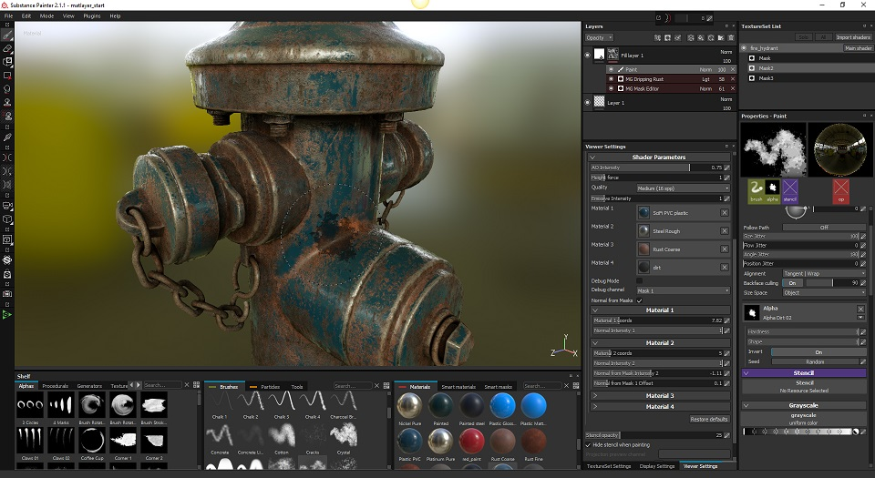 Substance Painter چیست ؟,آموزش Substance Painter